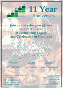 AEDAP-11th Year Fundraising Anniversarychanged