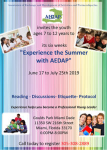 Summer Camp Aedap 2019